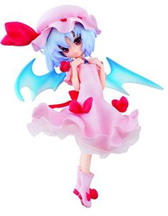 Aquamarine Touhou Project Remilia Scarlet PVC Figure * Visit the image link more details.