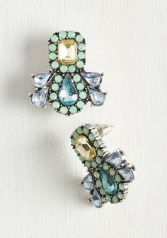 Fascinating Curation Earrings, @ModCloth