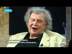 Στην υγειά μας 20-11-2010 - Αφιέρωμα στον Μίκη Θεοδωράκη - YouTube Greek Music, Einstein, Youtube, Youtubers