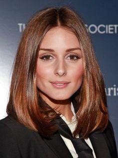 Olivia Palermo lob haircut