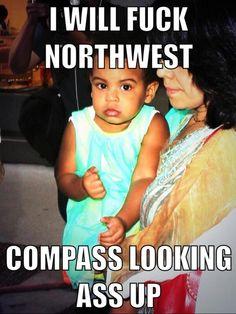 blue ivy vs north west meme - Google Search