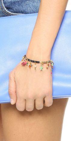 Shashi Lilu Charm Stretch Bracelet   SHOPBOP