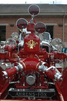 Ahrens-Fox Piston Engine with Roto-Ray and Gold Leaf Trucks And Girls, Big Trucks, Fire In The Blood, Ambulance, Lights And Sirens, Cool Fire, Brake Repair, Rescue Vehicles, Fire Equipment