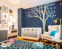 Photo Tree Wall Decal Mural Large Tree Wall Decals Frame Hanging Tree Wall…