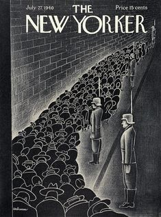 New Yorker July 27th, 1940 Painting by Christina Malman