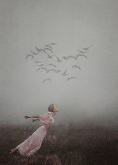 ☽ Dream Within a Dream ☾ Misty Blurred Art and Fashion Photography - photography by kylli sparre
