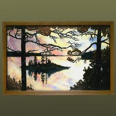 We commissioned a piece by Anne Ryan Miller for my inlaws featuring their SC tidal creek view in this style.  Can't wait to see it!
