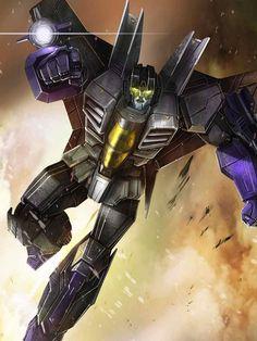 Decepticon Skywarp Artwork From Transformers Legends Game