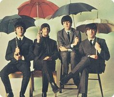 Beatles keeping dry