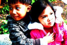 Portraits by Liane Pamuspusan, via Behance #children