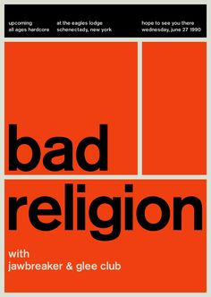 poster punk swiss design