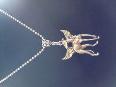 www.Facebook.com/Sprinkswings  Greyhound angel pendants.