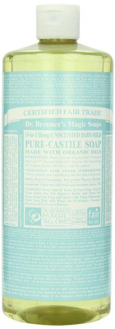 Amazon.com: Castile Liquid Soap-Baby Mild (Organic) - 32 oz - Liquid: Beauty