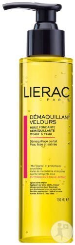 Lierac Démaquillant Velours Reinigende Smeltende Olie Pompfles 150ml (bij gewone apotheek)
