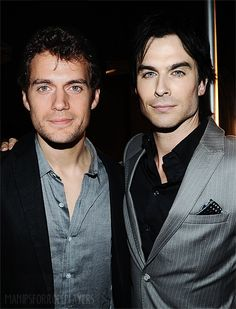 Henry and Ian together
