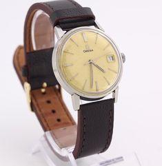f2f781bcd07 1960 s Vintage men s Omega 613 Seamaster stainless Relógio Omega