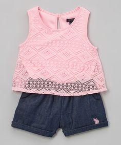 Loving this Prism Pink Romper - Infant, Toddler & Girls on #zulily! #zulilyfinds