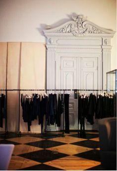 ✕ Acne Studios. Fashion. Stockholm. via Sanctuary. photographer Paul Barbera via his Where They Create site / #store #acne #europe
