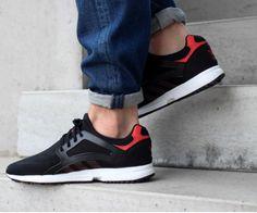 huge selection of aa836 edd36 El negro no pasa de moda, y menos si se combina con rojo fuego. Descubre  toda nuestra colección a través de nuestra web.  adidas  tenis2015   zapatillas ...