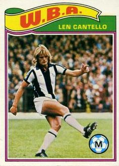 Retro Football, Football Kits, Vintage Football, Football Players, Football Stuff, Football Soccer, Soccer Cards, Football Cards, West Bromwich Albion Fc
