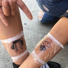 "yoomio: ""Get my art tatted on you so I know it's real "" Tattoo Pain, Poke Tattoo, I Tattoo, Body Art Tattoos, Cool Tattoos, Tatoos, Hand Tatto, Grunge Tattoo, Cute Tats"
