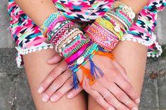 Inspiration bracelet brésilien brazilian bracelet