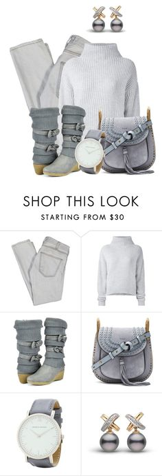 """Untitled #1449"" by lchar ❤ liked on Polyvore featuring Current/Elliott, Le Kasha, TC Fine Intimates, Chloé and Larsson & Jennings"