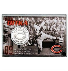 The Chicago Bears shop is the best place to buy official gear. Shop for everything from Bears jerseys to accessories right here. Mike Ditka, Bear Shop, Coin Card, Die Hard, Chicago Bears, Fan, Gift Ideas, Cards, Map