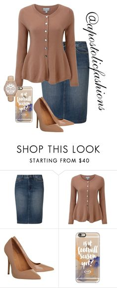 """Apostolic Fashions #1397"" by apostolicfashions ❤ liked on Polyvore featuring NYDJ, Pure Collection, Office, Casetify, FOSSIL, modestlykay and modestlywhit"
