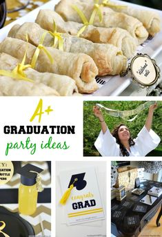 Graduation Party Ideas - Simple graduation craft and food ideas for hosting your celebration