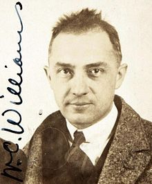 """William Carlos Williams, 1883-1963. (U.S.) poet, physician. Tempers Al Que Quiere! """"This is Just to Say."""""""