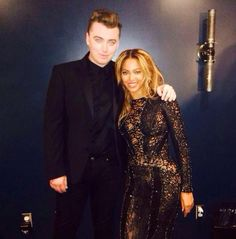 """10 Things You Don't Know About Sam Smith-Like most of us, Sam Smith loooooves Beyonce. We'd love to see him bust out the moves from the """"Drunk in Love"""" video, since he reportedly knows them all."""