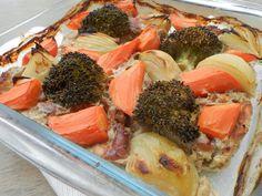 hogymegtudjuknézni: Pácolt csirkecomb csíkokon sült zöldségek