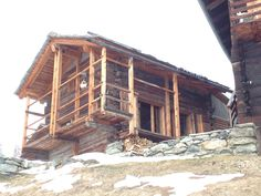 chalet project Destinations, Cabin, House Styles, Home, Barn, Cabins, Ad Home, Cottage, Homes