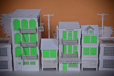 Tiny Cardboard City by jaredeberhardt, via Flickr