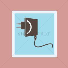 Plug vector illustration , #AFF, #Plug, #vector, #illustration #affiliate