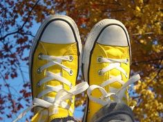 Yellow Converse | 1000 Yellow Converse, Converse All Star, Converse Shoes, Nike Shoes, Converse High, Yellow Shoes, Sock Shoes, Shoe Boots, Yellow Clothes