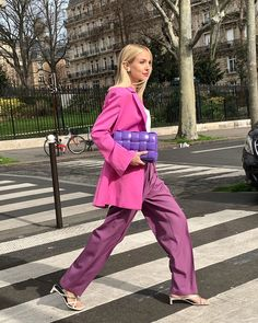 Spring Dressy up/ Event Guest Outfit 2020 Winter Mode Outfits, Winter Fashion Outfits, Pink Fashion, Colorful Fashion, Daily Fashion, New Outfits, Autumn Winter Fashion, Fashion Looks, High Street Fashion