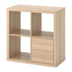 IKEA - KALLAX, Estante con cajones,