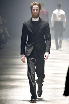 Lanvin Fall 2012 (horizontal collar)