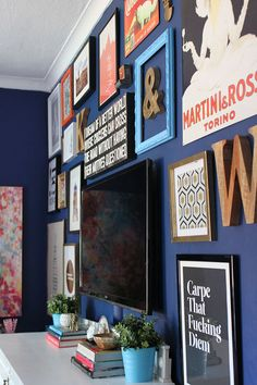 Deep Blue Something: So I repainted my dining room...