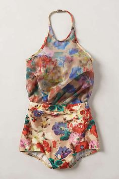 Anthropologie - Zimmermann Floral Haze Maillot