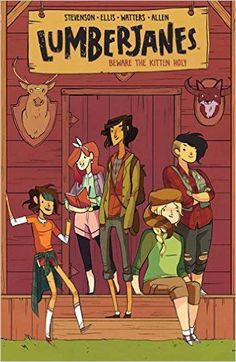 Lumberjanes Vol. 1: Beware The Kitten Holy: Noelle Stevenson, Shannon Watters, Grace Ellis, Brooke A Allen: 9781608866878: AmazonSmile: Books