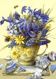 Geel word vaak samen met blauw gebruikt, en ik vind dat dat een beetje een goedkope uitstraling heeft