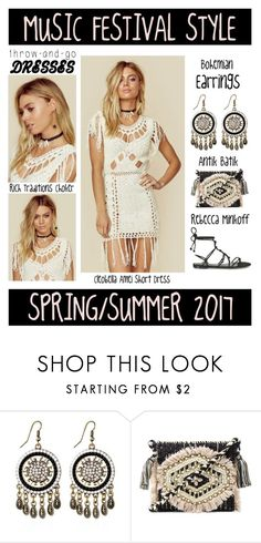 """Music Festival Style - Spring/Summer 2017"" by latoyacl ❤ liked on Polyvore featuring Antik Batik, Ettika and Rebecca Minkoff"