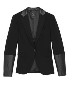 rag & bone Official Store, Timeless Blazer, black fl, Womens : Ready to Wear : Jackets & Blazers : Bl, W2424402PBA