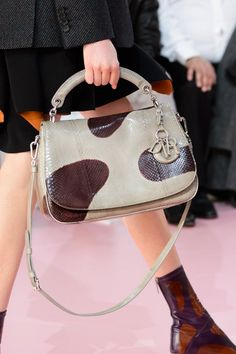 Pin for Later: You'll Want to Wear These Bags Right Off the Runway Christian Dior Fall 2015
