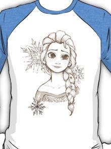 Elsa Snowflake T-Shirt