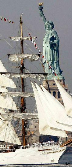 sailing - New York