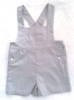 Overall Shorts, Panel, Overalls, Facebook, Etsy, Instagram, Women, Fashion, Gray